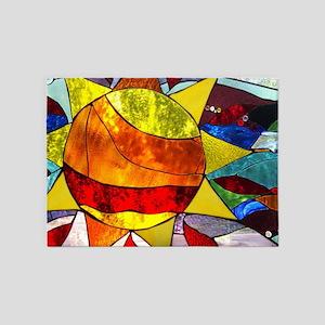 Sun Panel  5'x7'Area Rug