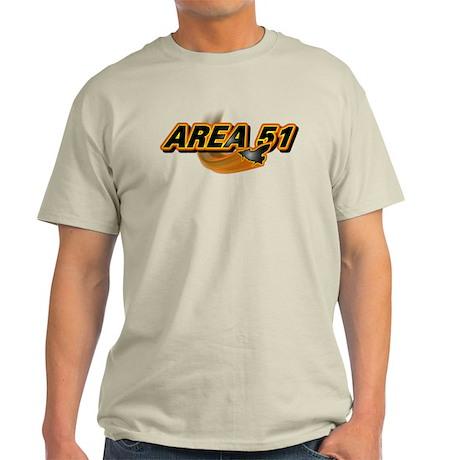 Area 51 Logo Orange Light T-Shirt