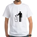 Religion is a drug! White T-Shirt