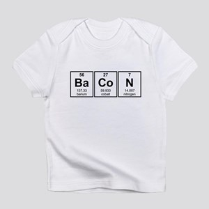 Bacon Periodic Table Element Symbols Infant T-Shir