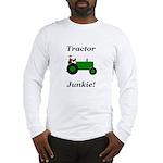 Green Tractor Junkie Long Sleeve T-Shirt