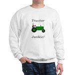 Green Tractor Junkie Sweatshirt