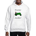 Green Tractor Junkie Hooded Sweatshirt