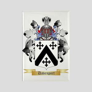 Davenport Rectangle Magnet
