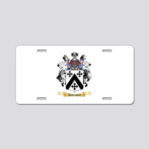 Davenport Aluminum License Plate