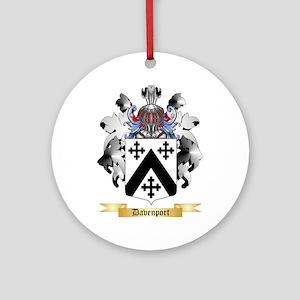 Davenport Ornament (Round)