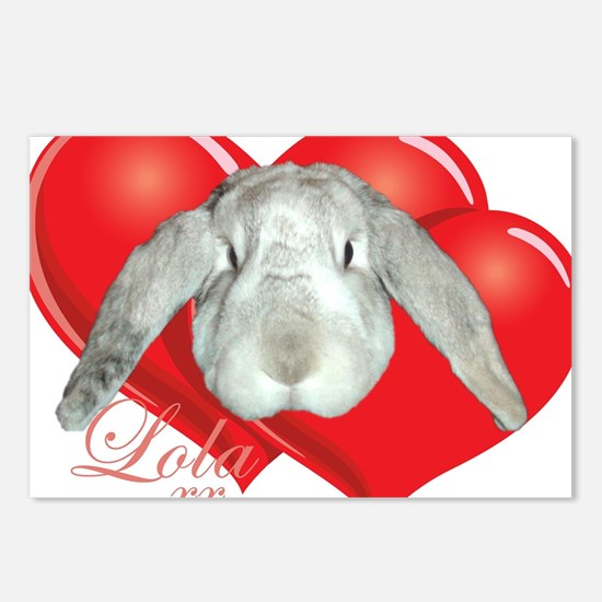 Love Lola Postcards (Package of 8)