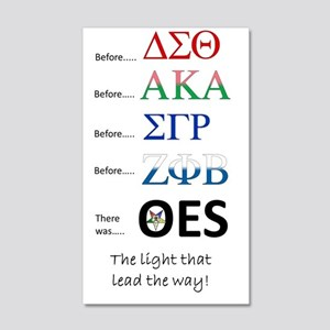 Before them, there was OES 35x21 Wall Decal