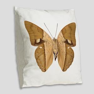 ARCHAEOPREPONA AMPHIMACHUS V Burlap Throw Pillow