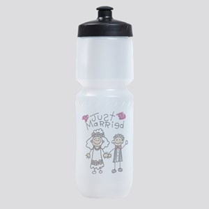just-married2 Sports Bottle