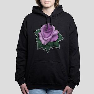 purple-rose.png Hooded Sweatshirt
