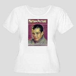 Ramon Novarro Women's Plus Size Scoop Neck T-Shirt