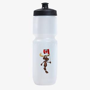 Canadian-Moose.png Sports Bottle