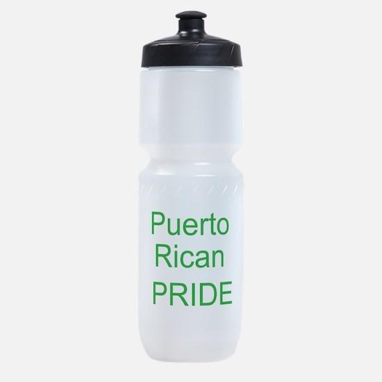 puerto rican pride tile copy.jpg Sports Bottle