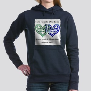 Two Hearts Hooded Sweatshirt
