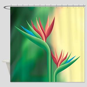 Paradise Flower Shower Curtain