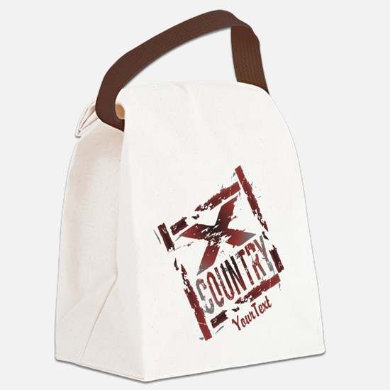 Customize - X Country Grunge Canvas Lunch Bag