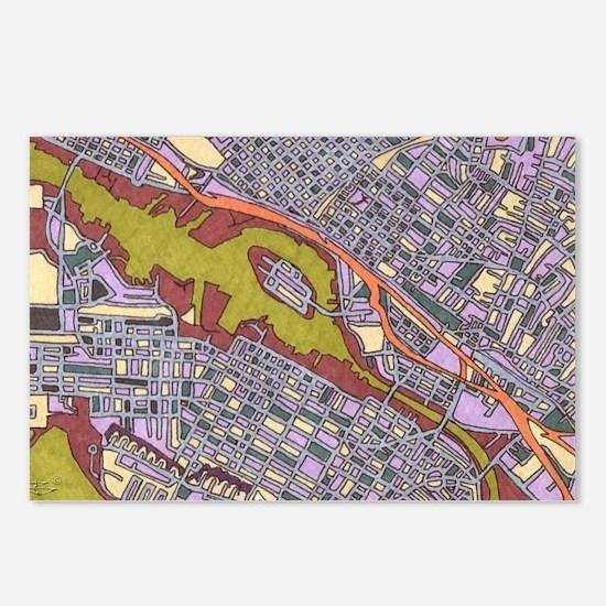 San Francisco, Alameda Postcards (Package Of 8)