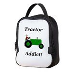 Green Tractor Addict Neoprene Lunch Bag
