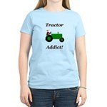 Green Tractor Addict Women's Light T-Shirt