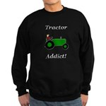 Green Tractor Addict Sweatshirt (dark)