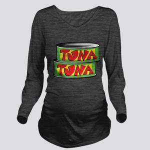 tuna Long Sleeve Maternity T-Shirt