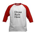Divas Rule Here Baseball Jersey