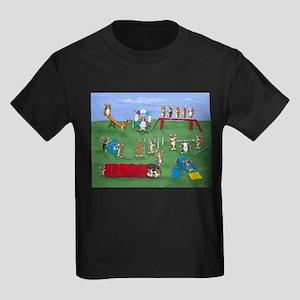 Agility Corgis Gone Wild! Pem Ash Grey T-Shirt