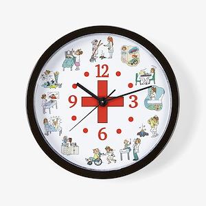 Nurses Wall Clock