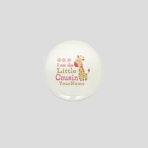 I am the Little Cousin Personalized Mini Button