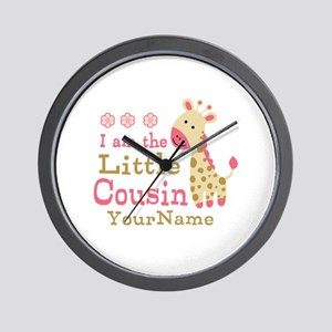 I am the Little Cousin Personalized Wall Clock