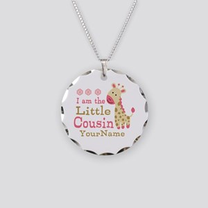 I am the Little Cousin Personalized Necklace Circl