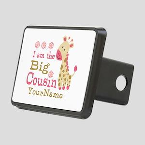 Pink Giraffe Big Cousin Personalized Rectangular H