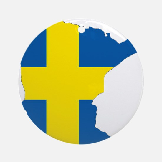 Swede Home Minnesota Ornament (Round)