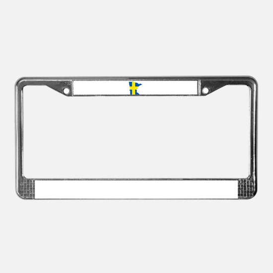Swede Home Minnesota License Plate Frame