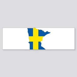 Swede Home Minnesota Bumper Sticker
