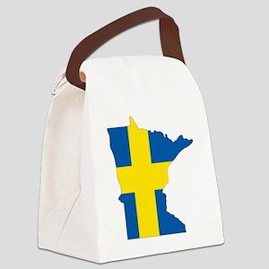 Swede Home Minnesota Canvas Lunch Bag