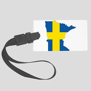 Swede Home Minnesota Luggage Tag