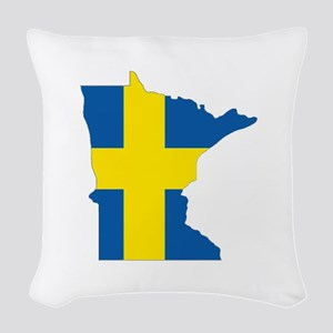 Swede Home Minnesota Woven Throw Pillow