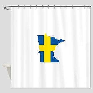 Swede Home Minnesota Shower Curtain