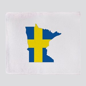 Swede Home Minnesota Throw Blanket