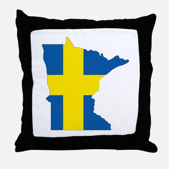 Swede Home Minnesota Throw Pillow