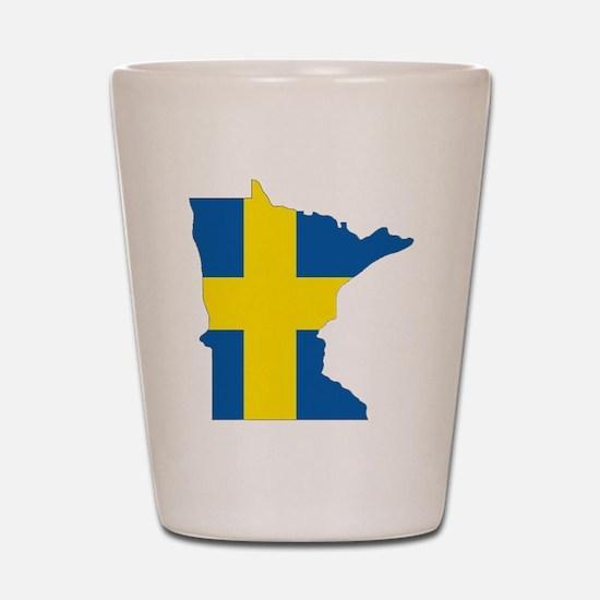 Swede Home Minnesota Shot Glass