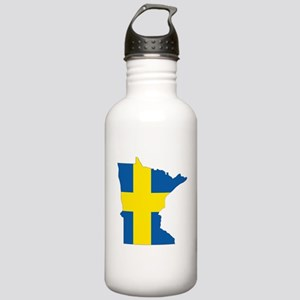Swede Home Minnesota Water Bottle