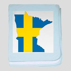 Swede Home Minnesota baby blanket