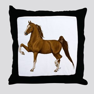 asbcolor Throw Pillow