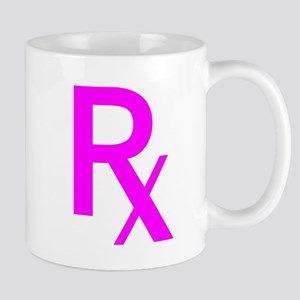 Pink Rx Symbol Mug
