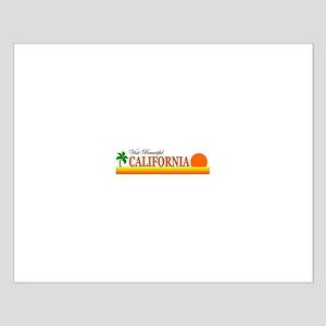 Visit Beautiful California Small Poster