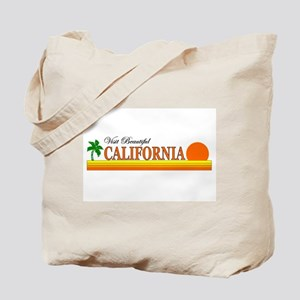 Visit Beautiful California Tote Bag