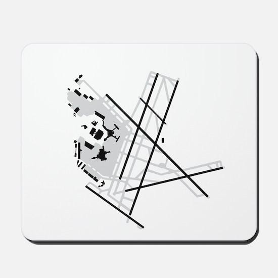 BOS Airport Mousepad